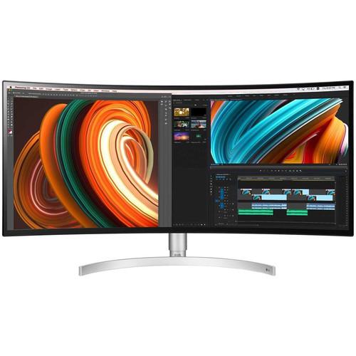 """LG 34BK95C-W 34"""" 21:9 Curved UltraWide QHD Nano IPS Monitor"""