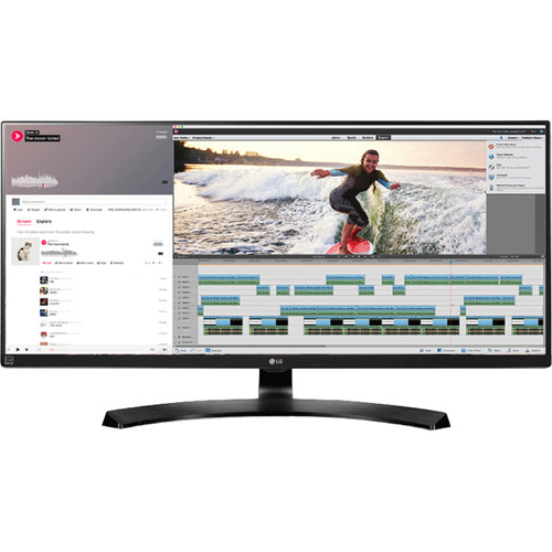 "LG 34UB88-P 34"" 21:9 UltraWide QHD IPS Monitor with Thunderbolt 2 Port"