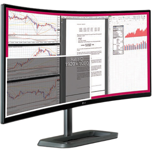 "LG 34UC87M-B 34"" 21:9 Curved UltraWide Monitor"