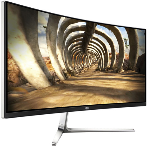 "LG 34UC97-S 34"" UltraWide QHD Curved LED Backlit LCD Monitor"