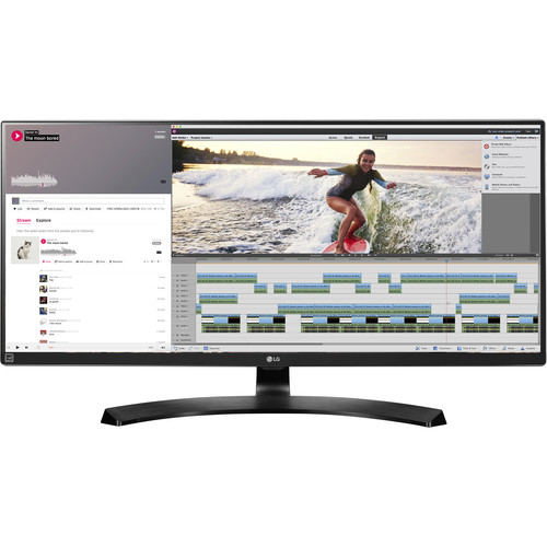 "LG 34UM88C-P 34"" 21:9 UltraWide FreeSync IPS Monitor"