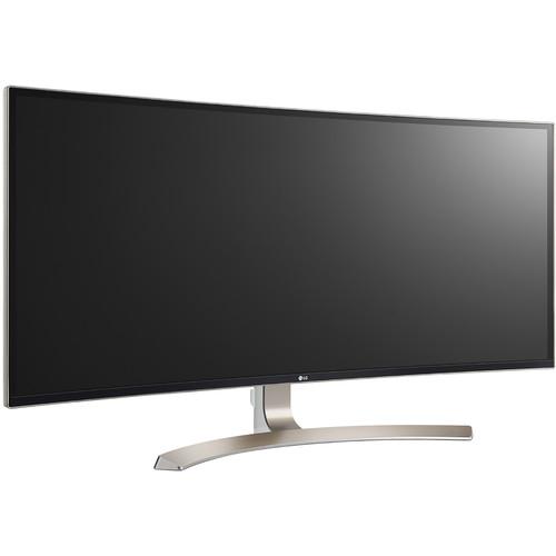 "LG 38CB99-W 38"" 21:9 WQHD+ Curved IPS Monitor"