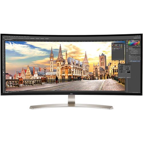 "LG 38UC99-W 37.5"" 21:9 WQHD+ Curved IPS FreeSync Monitor"