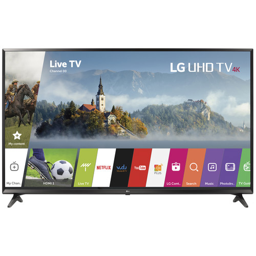 "LG UJ6300-Series 43""-Class HDR UHD Smart IPS LED TV"