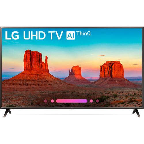 "LG UK6300PUE Series 43""-Class HDR UHD Smart IPS LED TV"