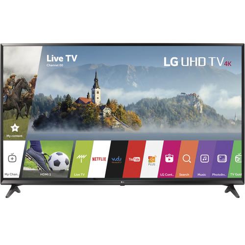 "LG UJ6300-Series 49""-Class HDR UHD Smart IPS LED TV"