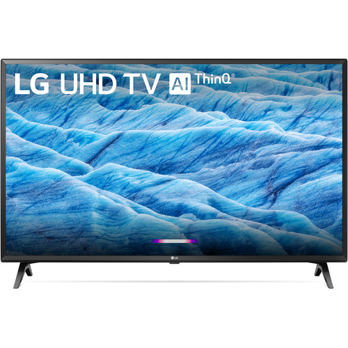"LG UM7300PUA 49"" Class HDR 4K UHD Smart IPS LED TV"