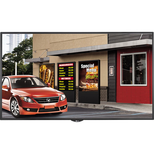 "LG LS75C Series 55"" Full HD Signage Display with Embedded System-on-Chip (Black)"