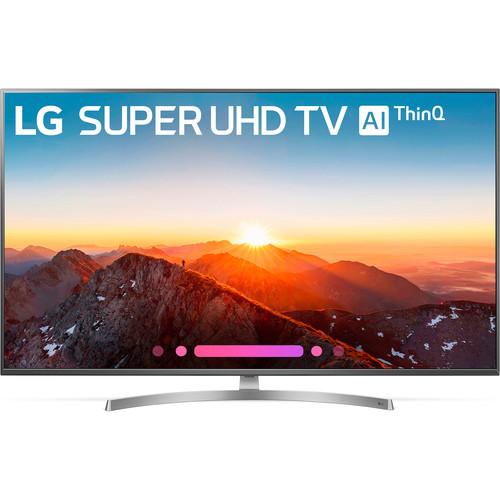 "LG SK8000-Series 55""-Class HDR UHD Smart Nano Cell IPS LED TV"