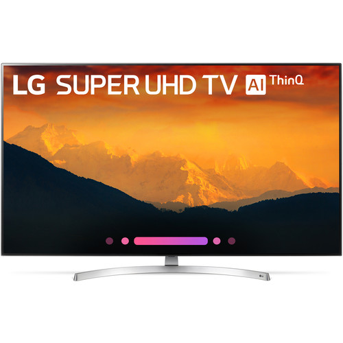 "LG SK9000-Series 55""-Class HDR UHD Smart Nano Cell IPS LED TV"