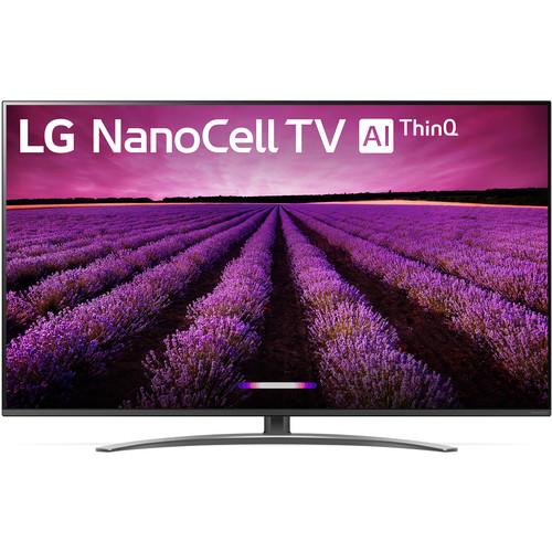 "LG SM8100AUA 55"" Class HDR 4K UHD Smart NanoCell IPS LED TV"