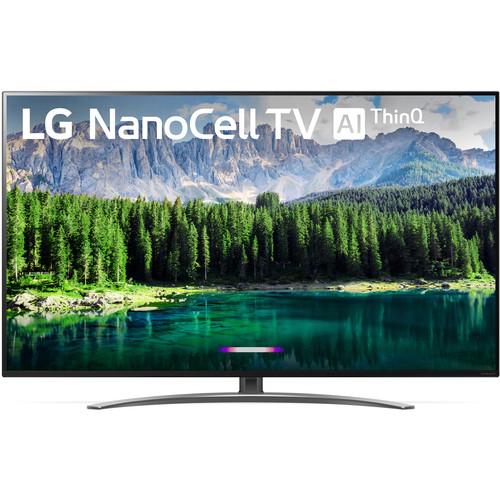 """LG SM8600PUA 55"""" Class HDR 4K UHD Smart Nano Cell IPS LED TV"""