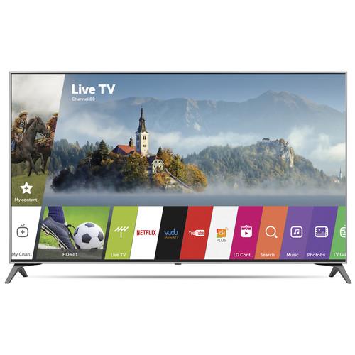 "LG UJ7700-Series 55""-Class HDR UHD Smart IPS LED TV"