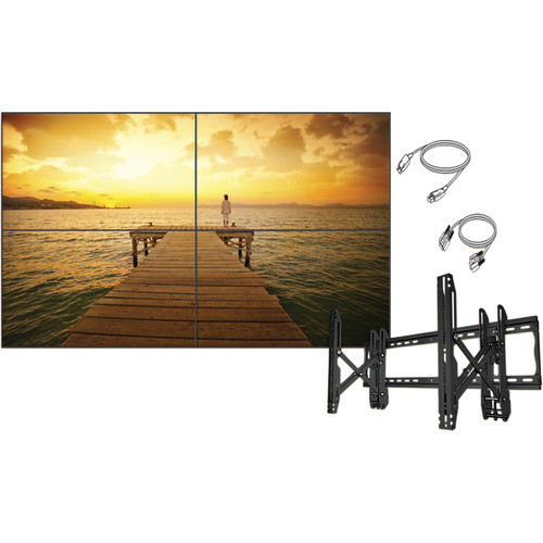 "LG 55VH7BW-4C 55"" 2x2 Video Wall Bundle"