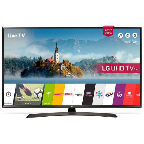 """LG UJ634 60"""" Class HDR 4K UHD Smart Multisystem LED TV"""