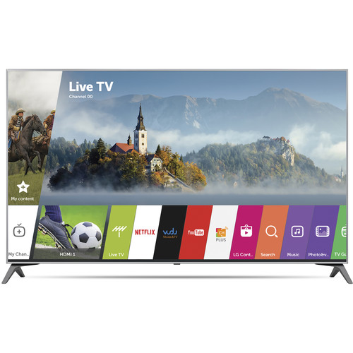 "LG UJ7700-Series 65""-Class HDR UHD Smart IPS LED TV"