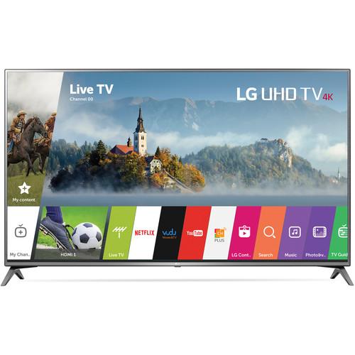 "LG UJ6470-Series 75""-Class HDR UHD Smart IPS LED TV"