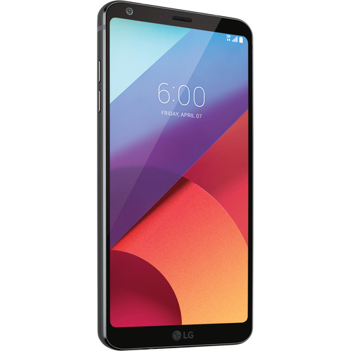 LG Black G6 32GB Smartphone Kit with Rose Gold Watch Style (Unlocked)