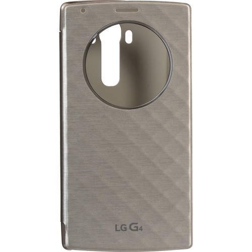 LG Quick Circle Folio Case for G4 (Gold)