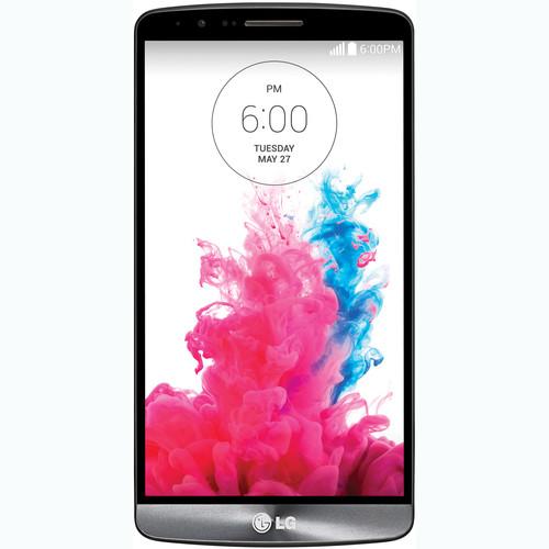 LG G3 D850 32GB AT&T Branded Smartphone (Unlocked, Metallic Black)