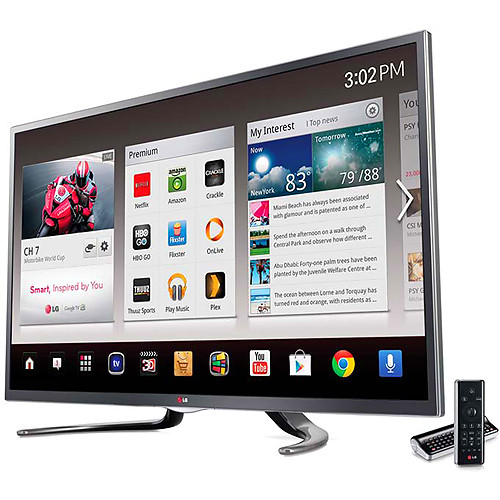 """LG 42"""" GA6400 Full HD 1080p 3D LED Google TV"""
