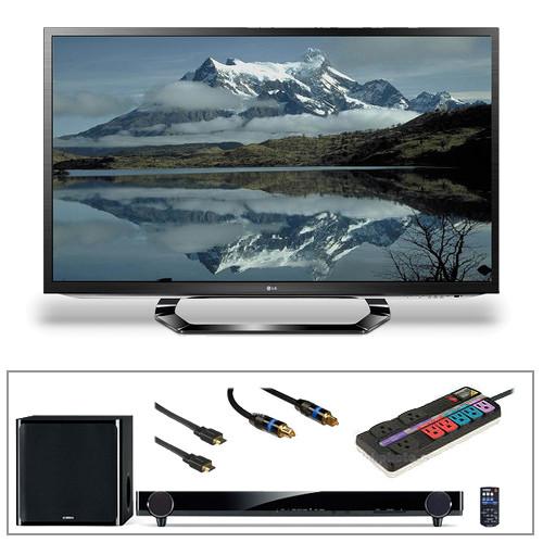 "LG 55LM6200 55"" Smart Cinema 3D LED TV Advanced Kit"