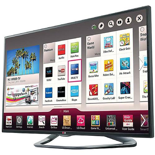 """LG 55"""" LA6200 Full HD 1080p Cinema 3D Smart LED TV"""