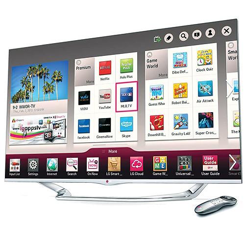 """LG 55"""" LA7400 Full HD 1080p Cinema 3D Smart LED TV"""