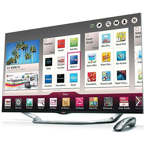 """LG 55"""" LA8600 Full HD 1080p Cinema 3D Smart LED TV"""