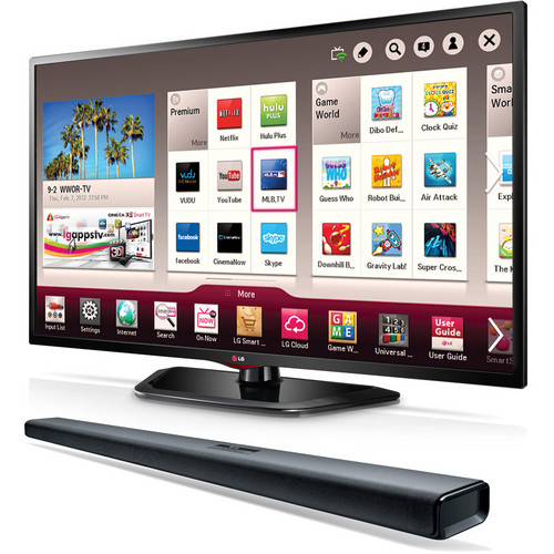 "LG 55"" LN5790 Full HD 1080p LED Smart TV & Sound Bar"