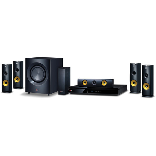 LG BH9230BW 3D-Capable 9.1-Channel Blu-ray Disc Home Theater System with Smart TV
