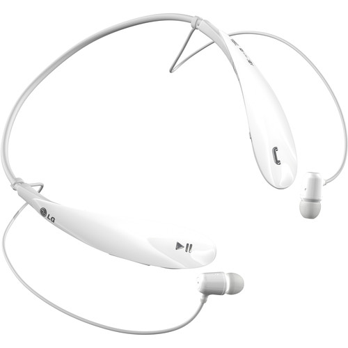 LG HBS-800 Tone Ultra Bluetooth Noise Cancelling Headset (White)