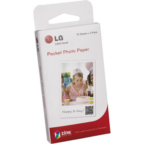 LG Pocket Photo Paper (30 Sheets)