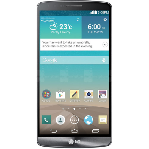 LG G3 D855 International 32GB Smartphone (Unlocked, Metallic Black)
