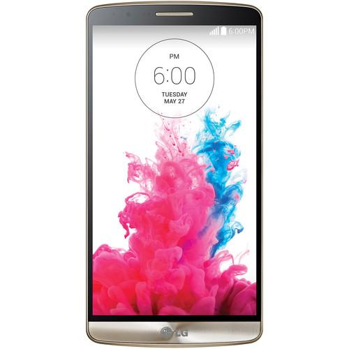 LG G3 D855 International 32GB Smartphone (Unlocked, Shine Gold)