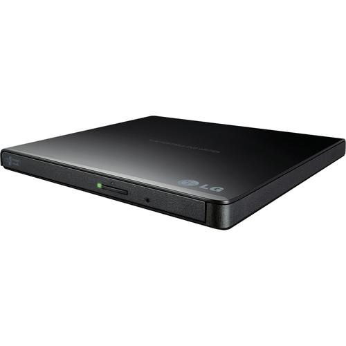 LG GP65NB60 Portable USB External DVD Burner and Drive (Black)