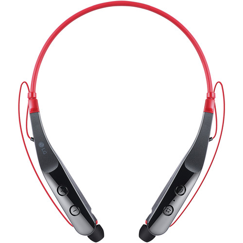 LG Tone Triumph Bluetooth Wireless Stereo Headset (Black and Red)