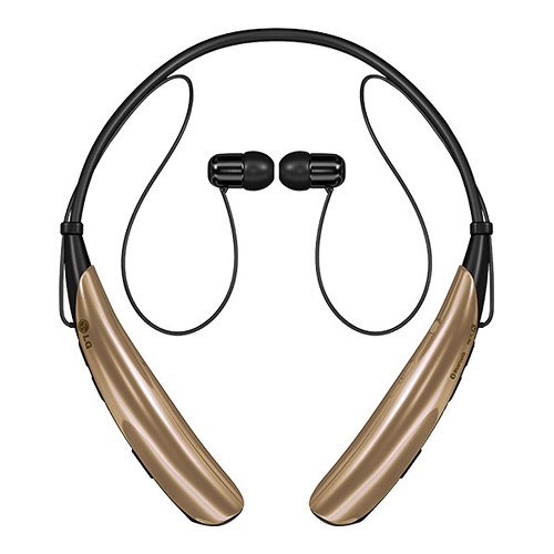 LG Tone Pro HBS750 Bluetooth Stereo Headset (Gold)
