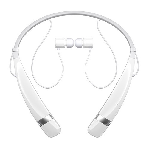 LG HBS-760 TONE PRO Bluetooth Wireless Stereo Headset (White)