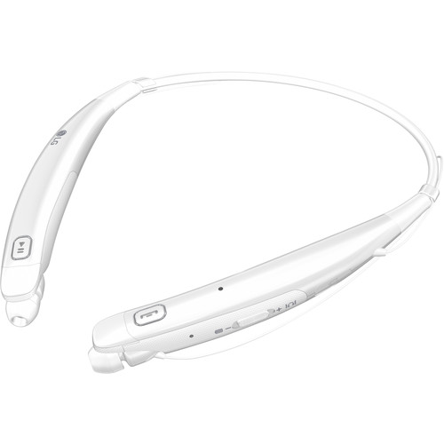 LG HBS-770 TONE PRO Wireless Stereo Headset (White)