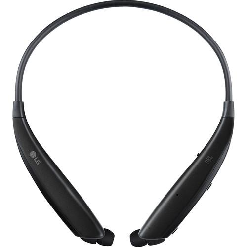 LG HBS-835 TONE Ultra Wireless In-Ear Headphones (Black)