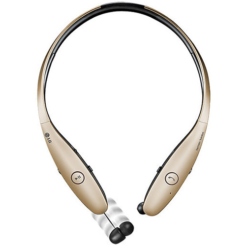 LG HBS-900 Tone Infinim Bluetooth Stereo Headset (Gold)