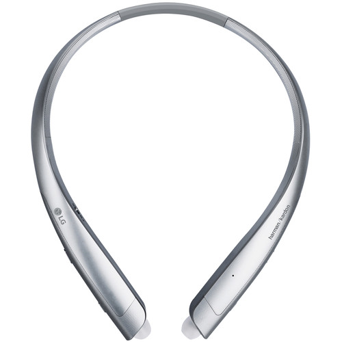 LG HBS-930 TONE Platinum Alpha Wireless In-Ear Headphones (Silver)