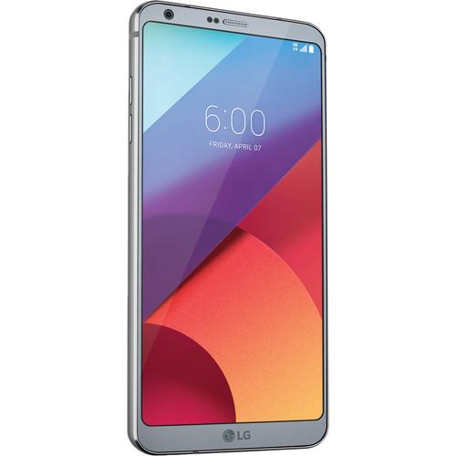 LG G6 H870 32GB Smartphone (Unlocked, Ice Platinum)