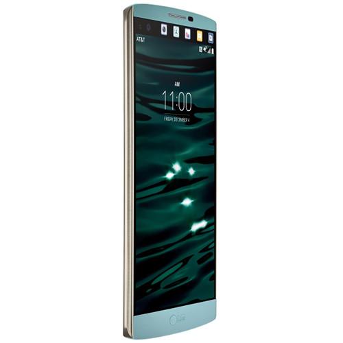 LG V10 H900 64GB AT&T Branded Smartphone (Unlocked, Opal Blue)