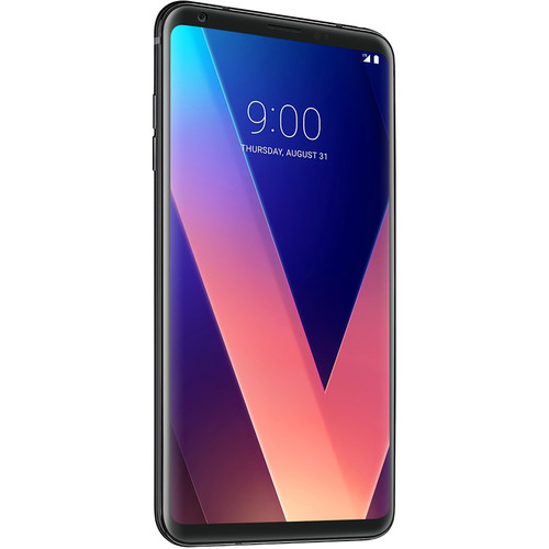 LG LG V30+ LS998 128GB Smartphone (Unlocked, Aurora Black)