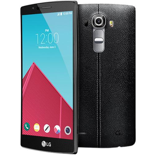 LG G4 US991 32GB Smartphone (Unlocked, Black Leather)