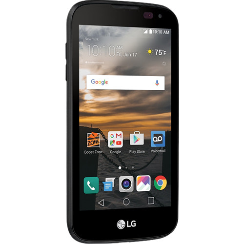 LG K3 Unlocked Phone (Black)