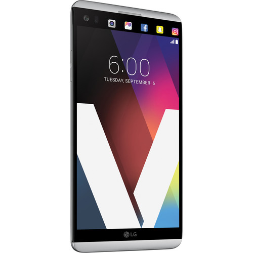 LG V20 US996 64GB Smartphone (Unlocked, Silver) -- $349.99 at B&H Photo online deal
