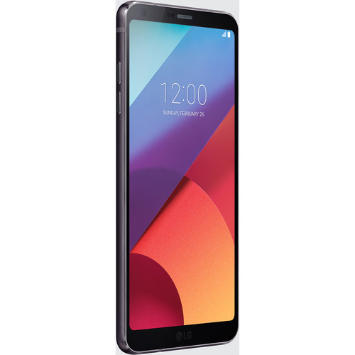 LG G6+ US997U 128GB Smartphone (Unlocked, Black)